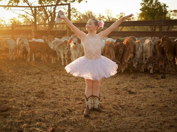 FINALIST: Holly Anne Watts was one of 10 people chosen out of 648 entries for the Suncorp Wish Upon a Ballet Star competition.