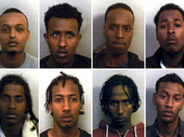 THIRTEEN Somali men have been convicted of running a Bristol sex ring that targeted vulnerable British girls as young as 13.