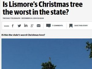 "The journos at the Daily Telegraph need to do some work on the whole ""Christmas spirit"" thing."