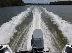 Boaties asked to sit tight thanks to unstable debris