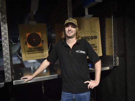 Simon Wagner at the Open Range