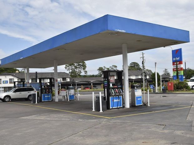 An armed robbery took place at United Petroleum on Cohoe St early yesterday morning.