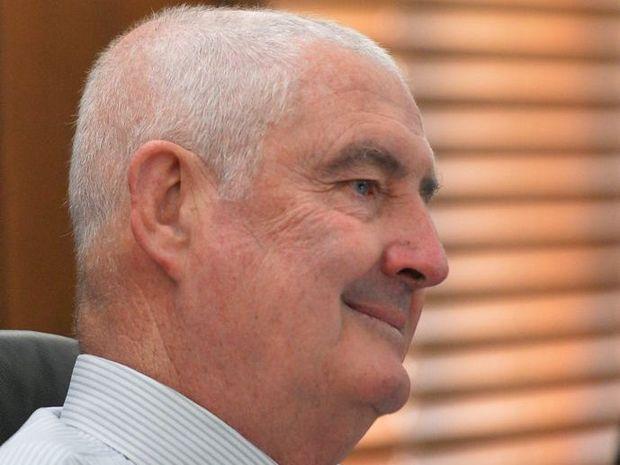 Former Gympie Regional Council Mayor, Ron Dyne