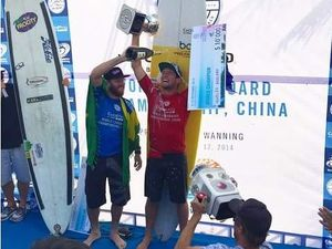 Harley Ingleby claims another world longboard title