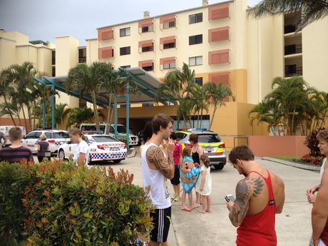 Marcoola Beach Resort was evacuated due to a gas leak.