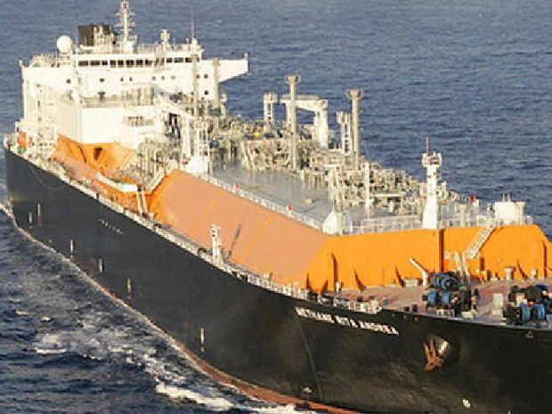ON TARGET: LNG ship Methane Rita Andrea.