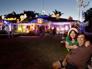 Christmas lights in Toowoomba