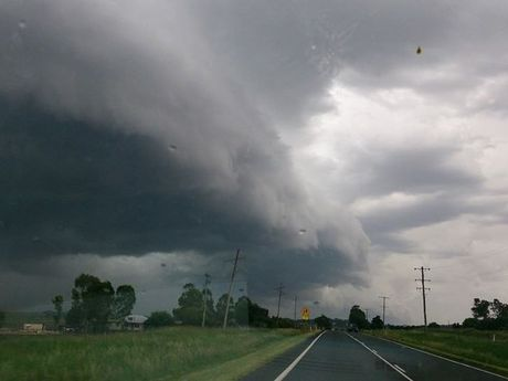 Storms roll across the Darling Downs. Brenda Harth shared this photo to Higgins Storm Chasing's Facebook page.