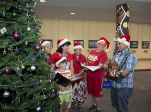 Carols for hospital patients