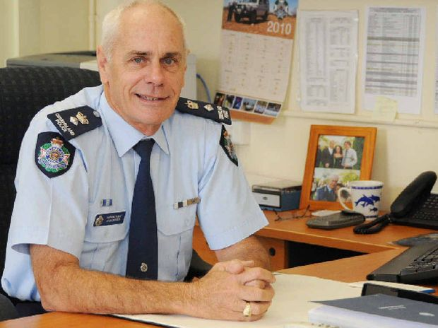 RIP: Former Gympie Police Superintendent Alan Bourke.