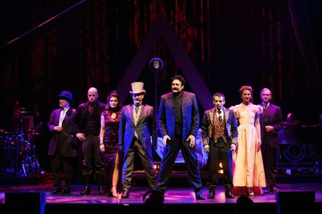 The magic makers of Illusionists 1903 take to the stage at Qpac's Concert Hall.