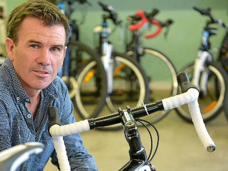 SAFETY FIRST: Sunshine Coast Cycling Club president, Craig King, says it's better for cyclists to play it safe with new laws now in force.