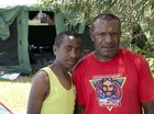 Vernon Agoname and Smith Newton witnessed a fatal bus crash on their way to the airport in Papua New Guinea to fly out to the iThirst Pathfinder Camporee in Toowoomba.