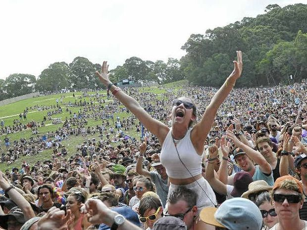 ROCK ON: Cold War Kids wow audiences at Falls Festival in Byron Bay.