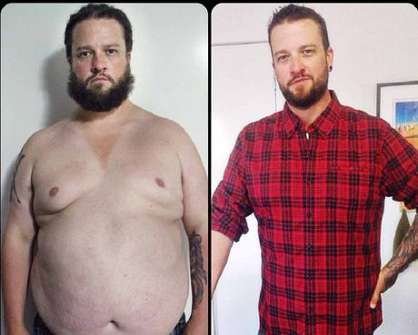 Derek Smith lost 30kg on a high fat, low-carb diet.