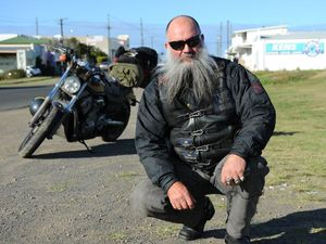 Former bikie-turned-candidate acknowledges 'colourful past'