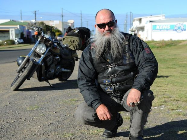 Former Outcast Motorbike Club member Russell Wattie is throwing his hat in the ring to stand for the seat of Maryborough.