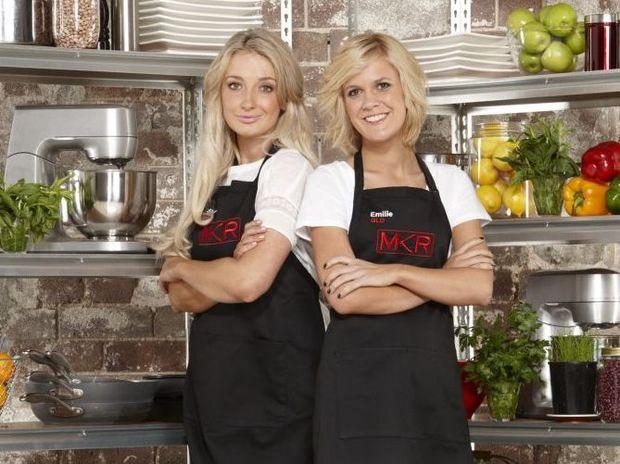 MKR Girls Sheri Eddington and Emilie Biggar Photo Contributed