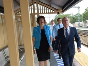 Campbell Newman in  Caloundra for Coast biography launch