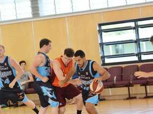 Australian Indigenous All Stars team training on Wednesday