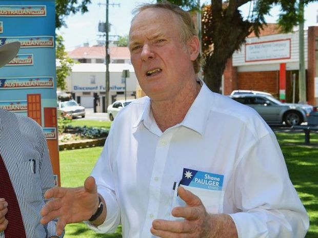 Mr Paulger is campaigning for Katter's Australian Party in the Gympie electorate.