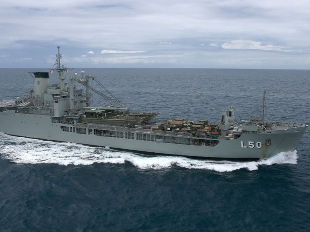 The HMAS Tobruk may be scuttled in the Great Sandy Strait in a few years.