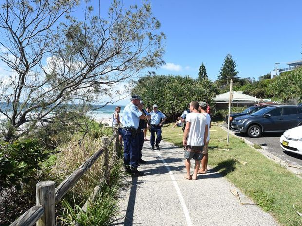 A shark attack at Shelly Beach in Ballina where the victim was declared deceased.