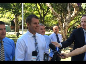Mike Baird on the shark attack