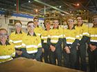Kylie Link, Taylah Crosbie, Sam Flintham, Jack Newton, Kyle King, Nic McKeiver, James Rowe, Jesse Black and Dylan Brown are nine of the 10 new apprentices at Queensland Alumina Ltd.