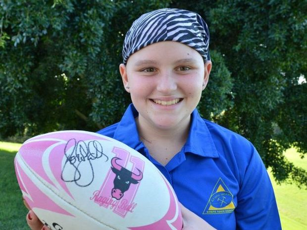 Tayla Saunders in 2012. Photo Tanya Easterby / The Gympie Times