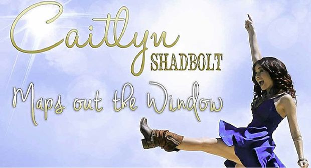 BIG REVEAL: Caitlyn Shadbolt last night released the video for hew new country hit single, Maps out the Window, on her official Youtube channel.