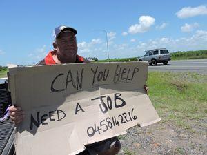 Donald Sorensen keen to find a job in Mackay