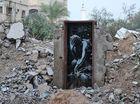 Banksy's street art targets Gaza as 'open-air prison'
