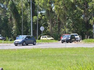 Should you slow down at this Bruce Highway exit?