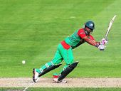 BANGLADESH can guarantee its place in the quarter-finals of the World Cup with a win against England at the Adelaide Oval on Monday.