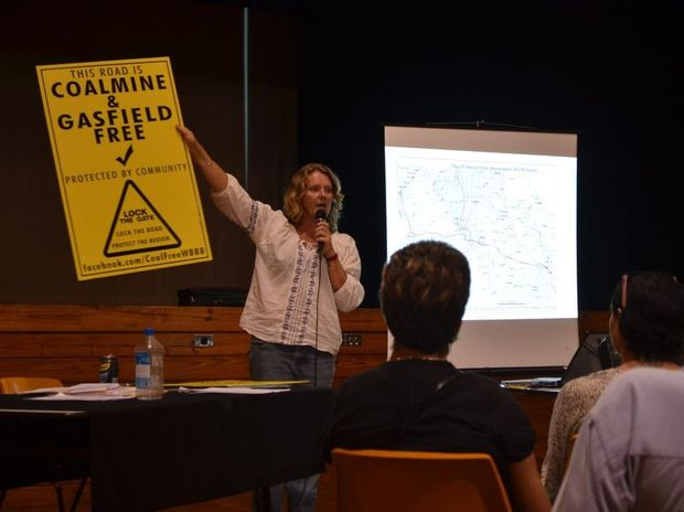 Coal Free Wide Bay Burnett spokeswoman Vicki Perrin said residents of Baffle Creek were alarmed to hear of exploration permits being sought in the Baffle Creek catchment by Blackall Oil.