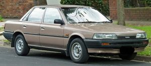 Police believe the owner, or driver, of a brown Toyota Camry like this one may be able to assist them with their investigations into the murder of Murwillumbah man Michael Martin on June 13, 2014.