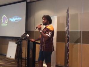 Sam Thaiday helps launch Deadly Choices