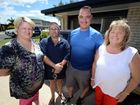 CYCLONE HEROES: Sue-Ellen Byrne, Michael Byrne, Jimmi Foord and Polly White came to the aid of 86-year-old Jean Biles who had it tough after Cyclone Marcia cut power and water to her unit.