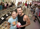 Bec Henderson and Mat Swann drive all the way from Toogoolawah to shop at Patton's Discount Meats