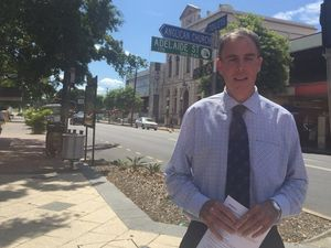 Mayor Gerard O'Connell talks about CBD plan.