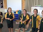 North Eton State School students excited at the news they have won a $5000 classroom makeover.