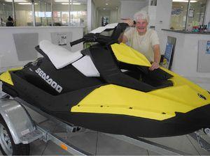 Marianne Mingonie, 82, wins a jet ski