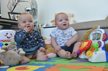 Twins Chloe and Mason have spent a lot of their lives in hospital.