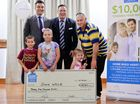 Family wins $25k to put towards new home