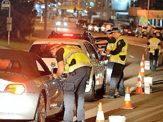 ON PATROL: Police urge motorists not to take the risk of drink-driving.