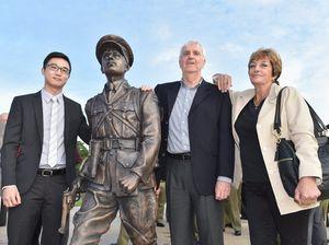Duncan Chapman memorial unveiling