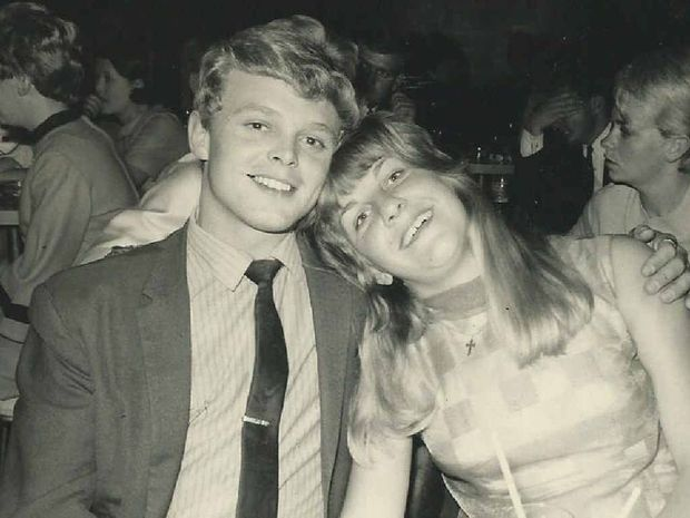 Bill Scurry with his wife, Gwen.