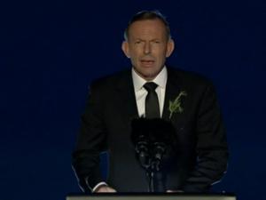 Tony Abbott: ordinary men did extraordinary things at Gallipoli