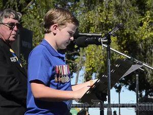 Anzac Day Speech - Ryan Daniels GPS